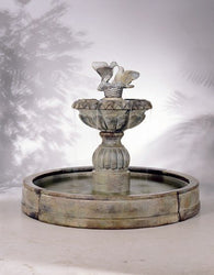 Paloma Cascada in Valencia Fountain, Large Outdoor Fountains - Outdoor Fountain Pros
