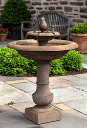 Palos Verdes Tiered Garden Fountain - Tiered Outdoor Fountains - Outdoor Fountain Pros