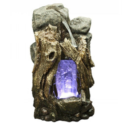 Rainforest Small Waterfall Edition With LED Lights - Outdoor Fountain Pros