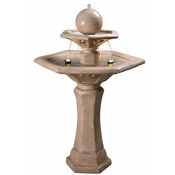 Riviera Outdoor Floor Fountain - Outdoor Fountain Pros