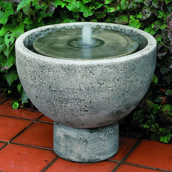 Rustica Pot Garden Water Fountain, Garden Outdoor Fountains - Outdoor Fountain Pros