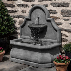 Segovia Wall Outdoor Fountain   Wall Outdoor Fountains   Outdoor Fountain  Pros