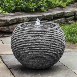 Sonora Stone Ledge Garden Fountain - Outdoor Fountain Pros