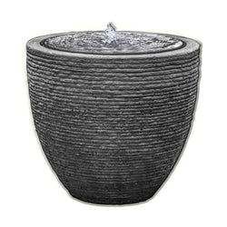 Stone Ledge Garden Fountain - Outdoor Fountain Pros