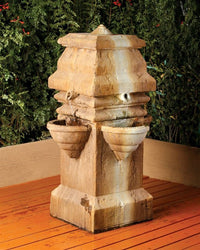Tagai Outdoor Water Fountain, Garden Outdoor Fountains - Outdoor Fountain Pros