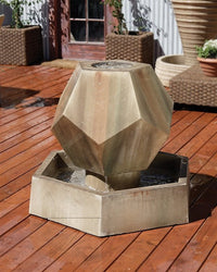 Twelve Side Garden Water Fountain, Garden Outdoor Fountains - Outdoor Fountain Pros