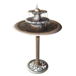 Three Tier Bronze Fountain - Outdoor Fountain Pros