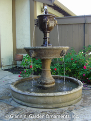 Tiberina Pond Outdoor Water Fountain