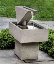 Triad Garden Water Fountain - Outdoor Fountain Pros