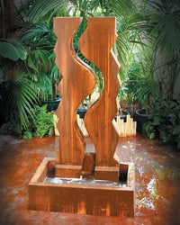 Vertical Canyon Garden Water Fountain, Garden Outdoor Fountain - Outdoor Fountain Pros