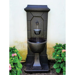 Vista Wall Outdoor Fountain - Outdoor Fountain Pros