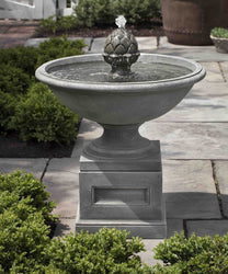Williamsburg Chiswell Garden Water Fountain - Outdoor Fountain Pros
