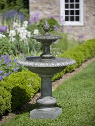 Williamsburg Pineapple 2 Tier Garden Water Fountain, Tiered Outdoor Fountains - Outdoor Fountain Pros