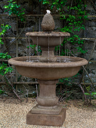 Wiltshire Tiered Outdoor Fountain - Tiered Outdoor Fountains - Outdoor Fountain Pros