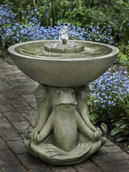 Zen III Garden Water Fountain, Garden Outdoor Fountains - Outdoor Fountain Pros