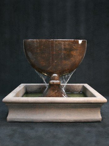 Chalice Garden Water Fountain, Urn Outdoor Fountains - Outdoor Fountain Pros