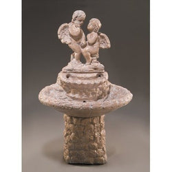 Courtship Garden Water Fountain, Garden Outdoor Fountains - Outdoor Fountain Pros