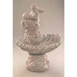 Pouring Angels Cast Stone Garden Fountain, Garden Outdoor Fountains - Outdoor Fountain Pros