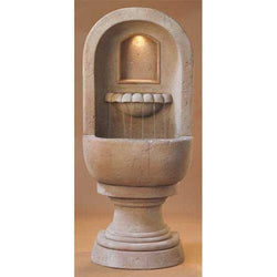 Basque Wall Outdoor Fountain, Wall Outdoor Fountains - Outdoor Fountain Pros