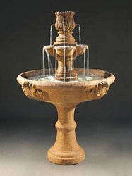 Assisi Tiered Garden Water Fountain, Tiered Outdoor Fountains - Outdoor Fountain Pros