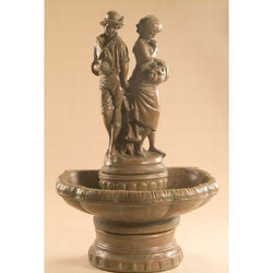 Springtime Cast Stone Garden Fountain, Garden Outdoor Fountains - Outdoor Fountain Pros