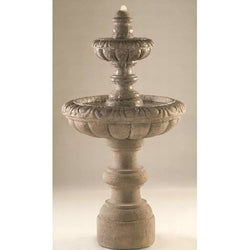 Romantica Tiered Garden Fountain Tiered Outdoor Fountains - Outdoor Fountain Pros