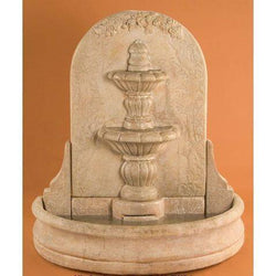 Espana Wall Outdoor Fountain - Short, Wall Outdoor Fountains - Outdoor Fountain Pros