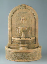 New Horizon Wall Outdoor Fountain, Wall Outdoor Fountains - Outdoor Fountain Pros