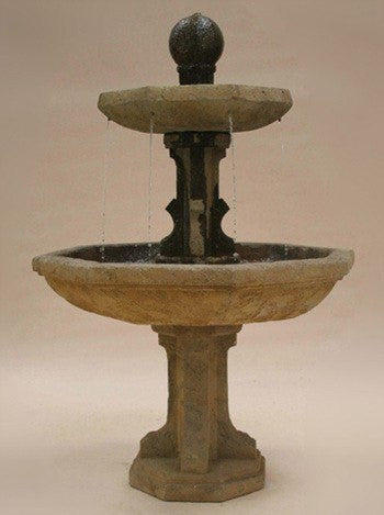 Augustan Tiered Outdoor Fountain, Tiered Outdoor Fountains - Outdoor Fountain Pros