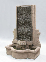 Tranquility Wall Outdoor Fountain, Wall Outdoor Fountains - Outdoor Fountain Pros