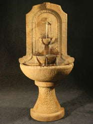 Santa Cruz Wall Fountain - Outdoor Fountain Pros