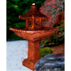 Pagoda Fountain, Garden Outdoor Fountains - Outdoor Fountain Pros