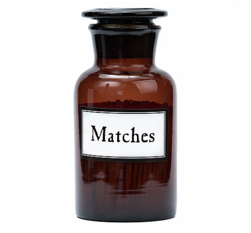 Matches Amber - Large
