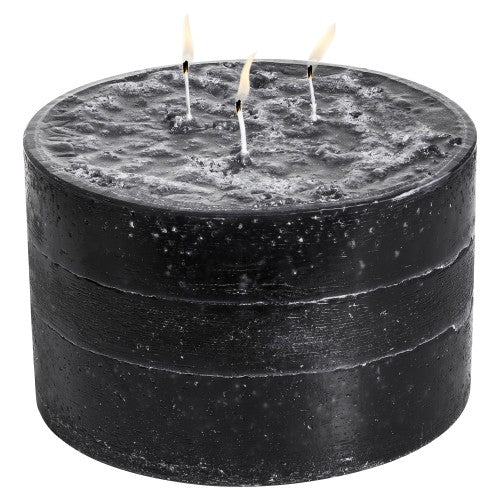 Medium Cylinder Candle 190x120mm - Burn time approx 143 hours