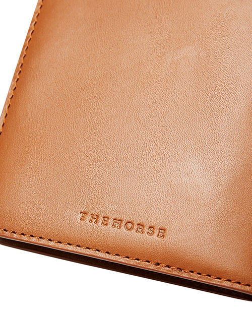 The Horse - Passport Cover - Tan