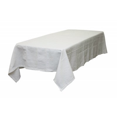 Plain White Tablecloth