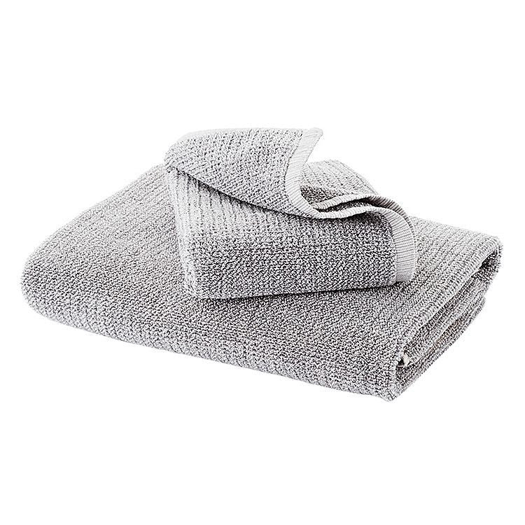 Grey Tweed Hand Towel - 100% Cotton