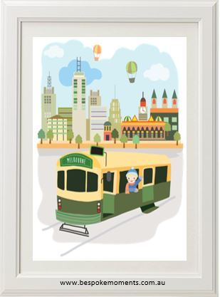 Iconic Melbourne Print - A4 - Mind over Manor