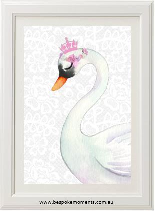 Royal Swan Princess - Lace A3