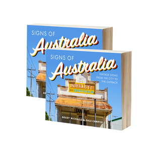 2 x SIGNS OF AUSTRALIA BOOK - SALE!