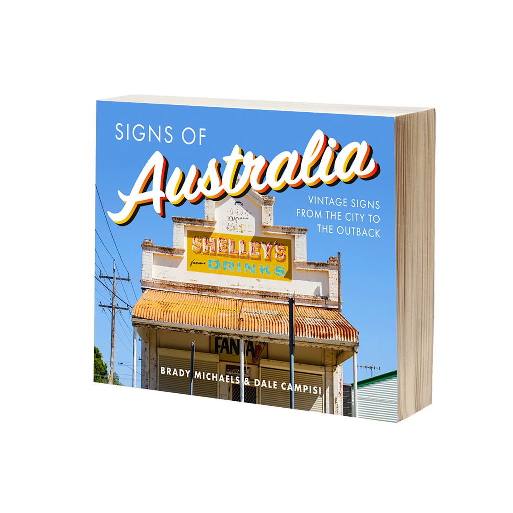 SIGNS OF AUSTRALIA BOOK - SALE!
