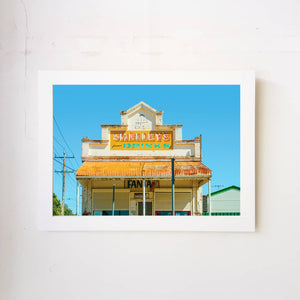 Shelley's Milk Bar Art Print