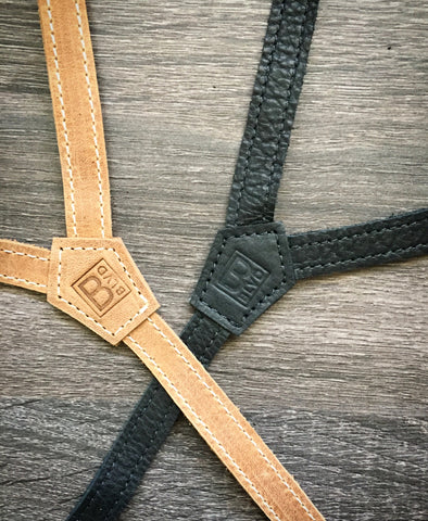 Leather Flex Suspenders