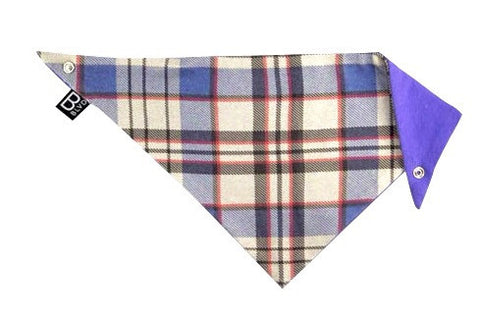 Scottish Blue Bandit Bib