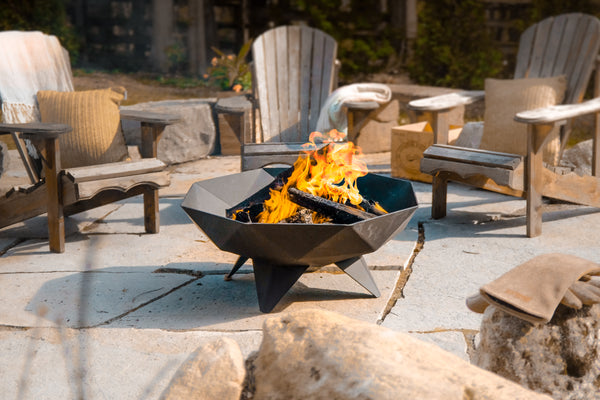 Iron Embers - Polygon Fire Bowl