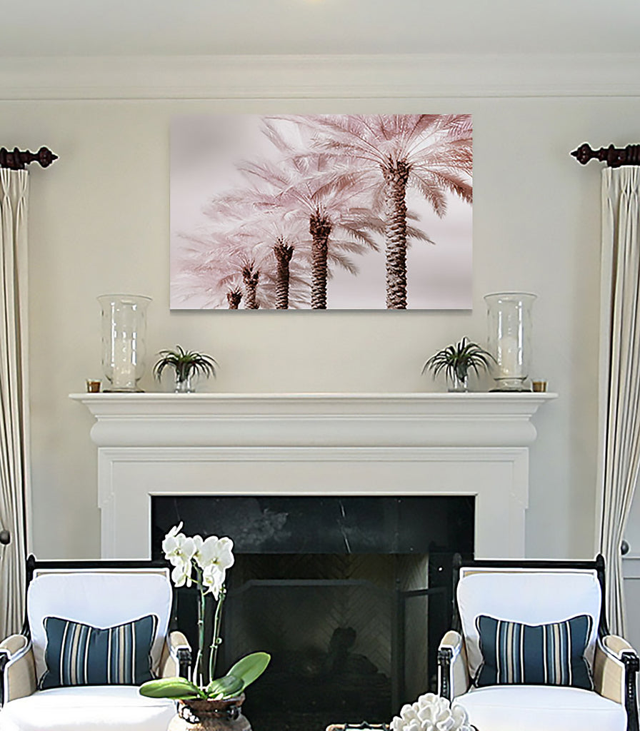 Stately Palms -Premium Gallery Wrapped Canvas
