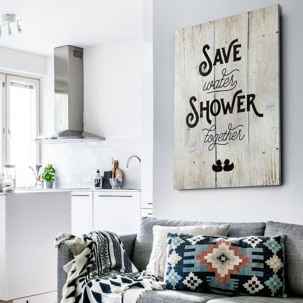 Save Water - Premium Gallery Wrapped Canvas