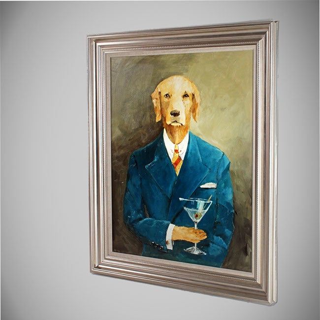 Avery Tillmon 'John Steinbark' Framed Canvas Art