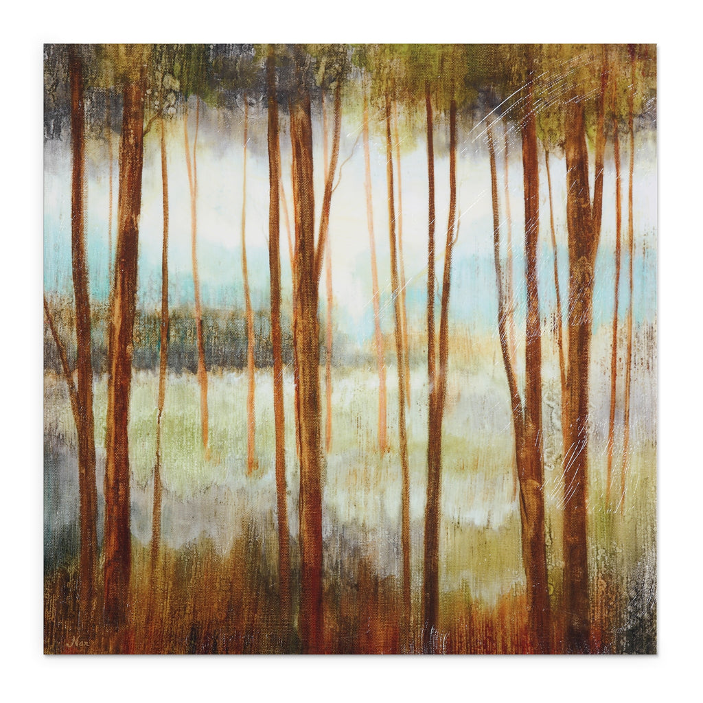 Ruane Manning 'Soft Forest l' Canvas Art