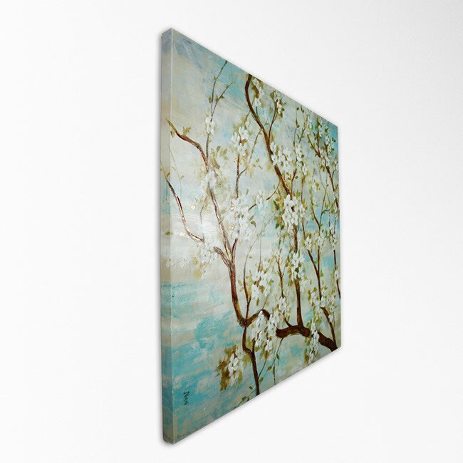 Nan F. 'Spring in Bloom' Print on Canvas Art